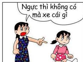 Cười 'rụng rốn' với Doraemon chế cực hài (P.8)
