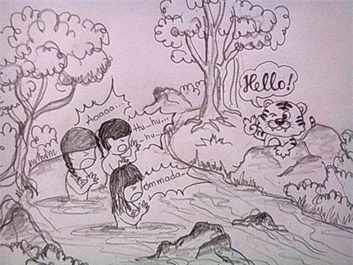 Cực đáng yêu với tranh Chibi của Hari - Tiến Đạt - 11