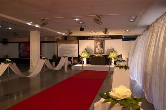 Không gian tưởng niệm Đại tướng Võ Nguyên Giáp cho người trẻ