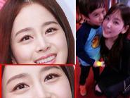 Kim Tae Hee lộ nếp nhăn trên mắt - Taeyeon cười tít mắt vì sao nhí hôn
