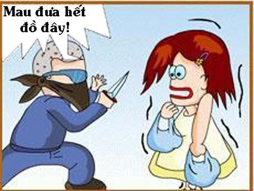Truyện tranh: Khi ăn cướp gặp ăn trộm