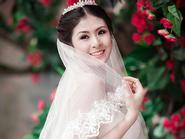 Ngọc Hân tuyệt xinh trong váy cưới cô dâu