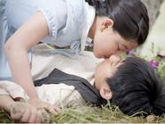 Sao nhí Hàn liên tục quay cảnh hôn nhau