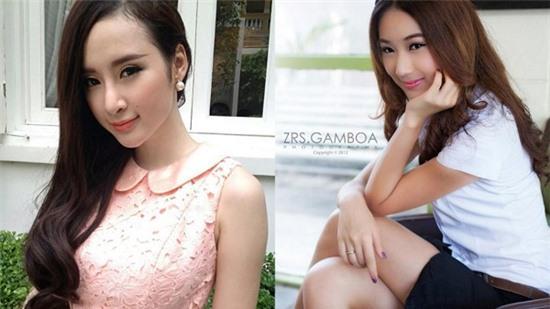 Hot girl Thái xinh đẹp, giống Angela Phương Trinh