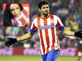 Diego Costa tán tỉnh cả hai chị em siêu mẫu