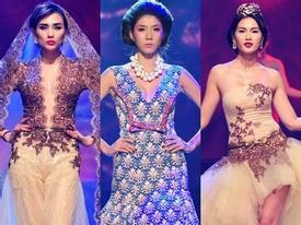 Fashion Star dùng tới 3 vedette Việt vẫn nhạt nhòa đêm mở màn