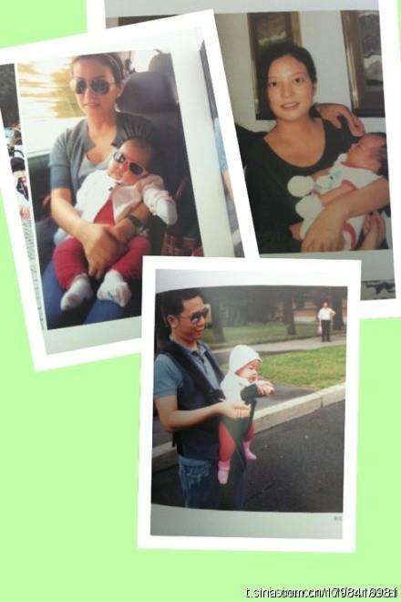 Những hình ảnh đầu tiên về con gái của Triệu Vy