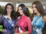 Miss Universe 2013: Trương Thị May không ngại đọ sắc Venezuela, lọt tầm ngắm báo Nga