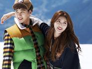 Kim Soo Hyun và Suzy ngọt ngào đón đông - Yoon Eun Hye xinh như búp bê