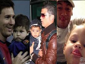 """Ngắm những """"nhóc tỳ"""" đáng yêu nhất của dàn sao La Liga"""