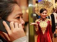 Miss Universe 2013: Mẹ Trương Thị May rất hài lòng và tự hào về con gái