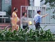 Hoàng Yến xuất viện sáng nay sau tai nạn lật xe kinh hoàng