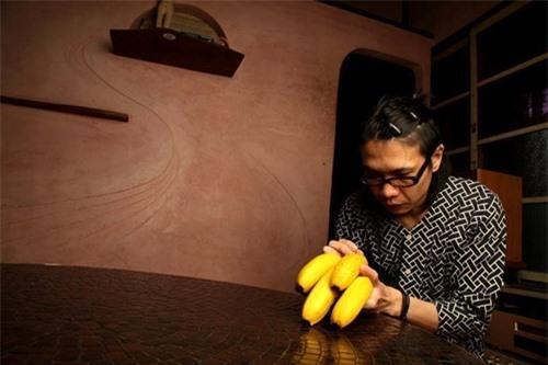 Tranh vỏ chuối siêu độc của họa sĩ Nhật Bản gây sốt