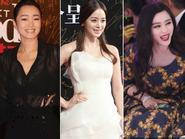 Củng Lợi diện áo xuyên thấu - Phạm Băng Băng và Kim Tae Hee thi nhau 'toả sắc'