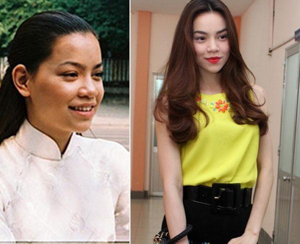 """Các """"Mỹ Nhân"""" Việt Nam trước và sau khi trang điểm"""
