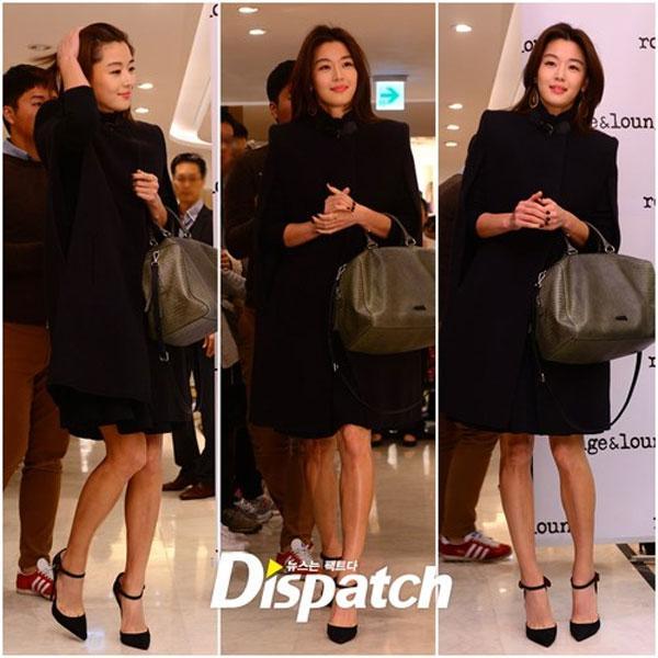 Jeon Ji Hyun sang trọng và yêu kiều