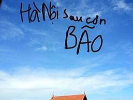 Cư dân mạng thích thú share ảnh Hà Nội nắng đẹp sau siêu bão Haiyan