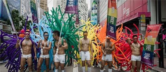 8.000 người tham gia lễ hội tự hào đồng tính Hong Kong