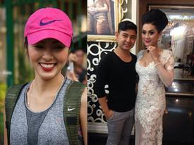 Hà Tăng không váy áo hàng hiệu vẫn đẹp -  Lâm Chi Khanh sexy với trang phục xuyên thấu