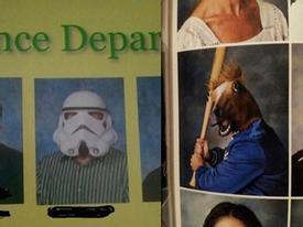 Phong cách chụp ảnh xì tin của các thầy cô giáo