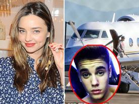 Miranda Kerr tươi rói đi mua sắm - Justin Bieber bị lục soát vì nghi có ma túy