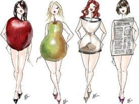 Bí quyết diện đẹp cho người béo dáng quả táo