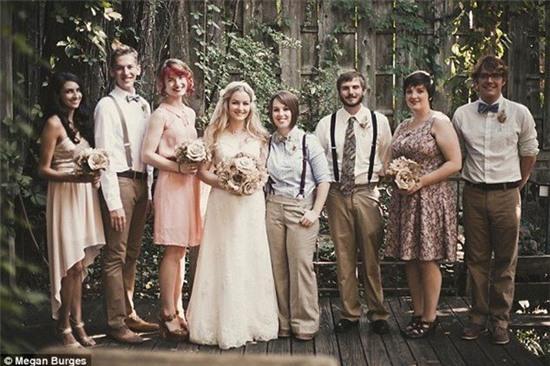 Bộ ảnh cưới của cặp đồng tính nữ gây sốt Internet 14