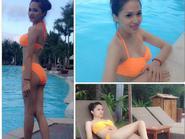 Hương Giang Idol khoe thân hình nóng bỏng với bikini