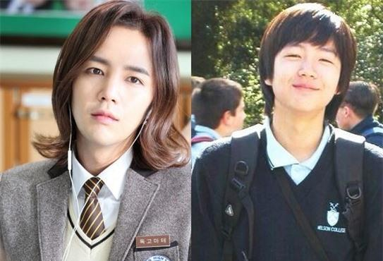 Jang Geun Suk in School Uniform over the Years