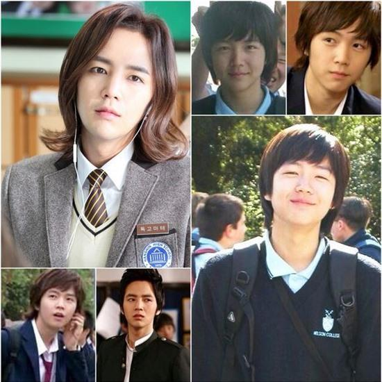 jang geun suk school uniform