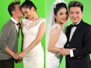 Bất ngờ Lệ Quyên - Mr Đàm chụp ảnh cưới 'hôn' nhau tình tứ