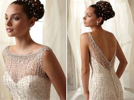 Đẹp mê hồn với váy cưới dáng điệu