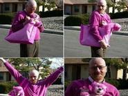 Ảnh vui: Em yêu màu hồng