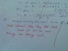 Đối đáp dí dỏm của cô giáo và học trò trong bài kiểm tra
