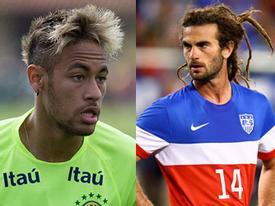 Những kiểu tóc quái dị làng bóng đá năm 2014