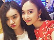 """Facebook 24h: Angela Phương Trinh xinh đẹp bên em gái """"xì tin"""""""