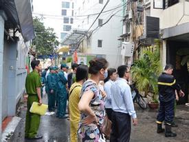 Khách sạn bốc cháy, nhiều người bỏ hành lý tháo chạy