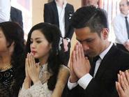 Tâm Tít xúc động trong buổi lễ Hằng Thuận
