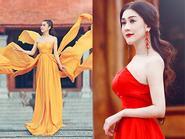 Lâm Chi Khanh 'ướm' vai Võ Tắc Thiên đầy quyền lực
