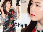'Hoàng hậu Ki' Ha Ji Won đẹp rực rỡ với váy hoa