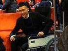 Phùng Thiệu Phong ngồi xe lăn đi sự kiện Tây Du Ký