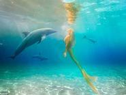 Nàng tiên cá đời thực có thể nhịn thở hơn 5 phút dưới nước