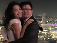 HH Hương giang hạnh phúc đón sinh nhật bên chồng tại Singapore