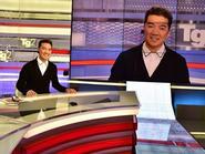 Mr Đàm thử làm MC trên truyền hình quốc gia Italy