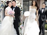 Váy cưới đẹp như mơ của sao Hoa ngữ năm 2014