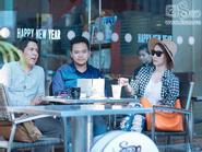 """Ngân Khánh bí mật """"hẹn hò"""" cùng chồng Trang Nhung"""