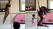 Clip mẹ ôm con 2 tuổi múa cột gây tranh cãi trên Youtube
