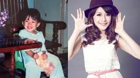 Ngắm các hot girl Việt xinh xắn từ thuở nhỏ