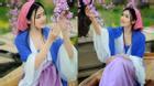 Nữ sinh báo chí cosplay thành Võ Mị Nương ở Dịch Đình