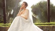 Trúc Diễm hạnh phúc rạng ngời trong chiếc váy cưới